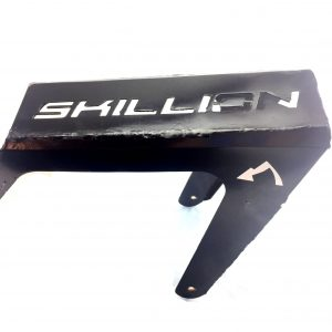 Skillion ebike rear gear rack.