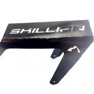Skillion ebike rear gear rack.